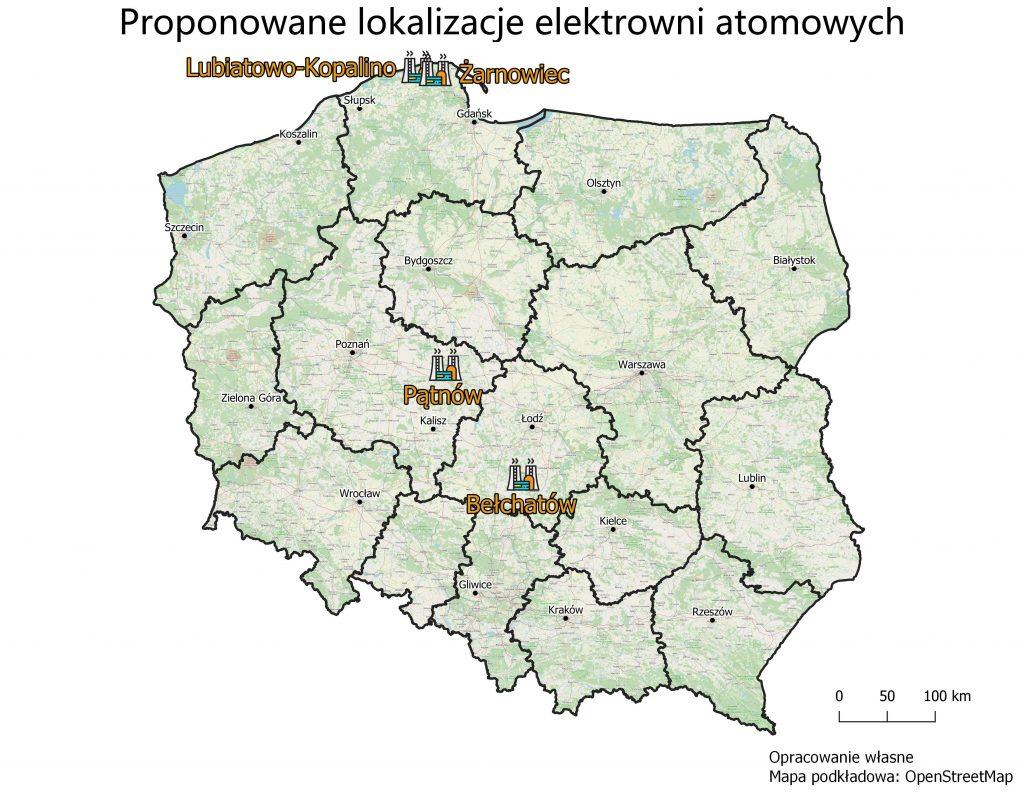 Wskazana lokalizacja elektrowni atomowej wkraju Przemysł iŚrodowisko